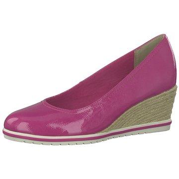 Tamaris Keilpumps pink