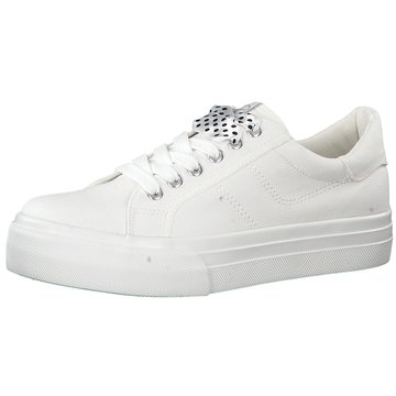 Wortmann Plateau Sneaker weiß