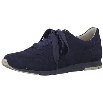 Tamaris Sportlicher Schnürschuh blau