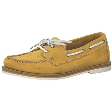 Tamaris BootsschuhFolk gelb