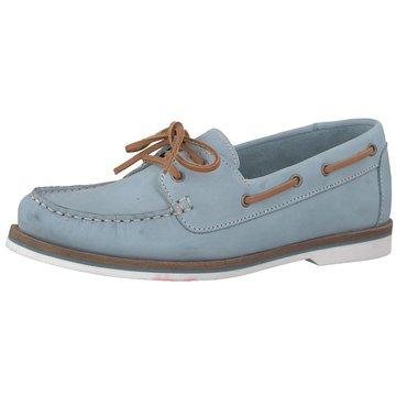 Tamaris Bootsschuh blau