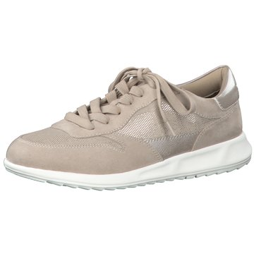Tamaris Komfort Schnürschuh beige