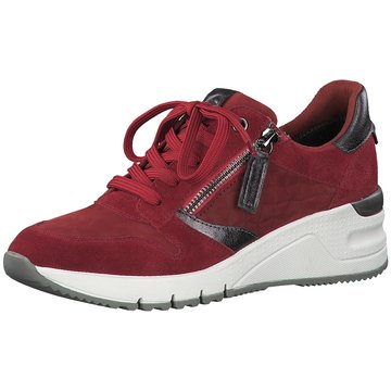 Tamaris Sneaker WedgesSneaker rot