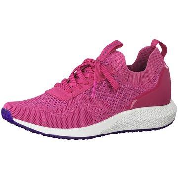 Tamaris Sportlicher Schnürschuh pink