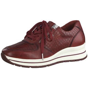 Tamaris Komfort SchnürschuhSneaker rot
