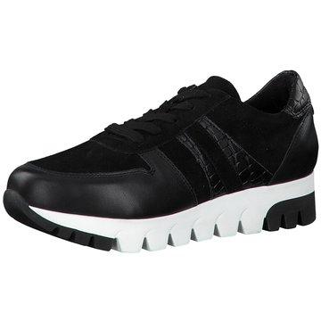 Tamaris Plateau SchnürschuheSneaker schwarz