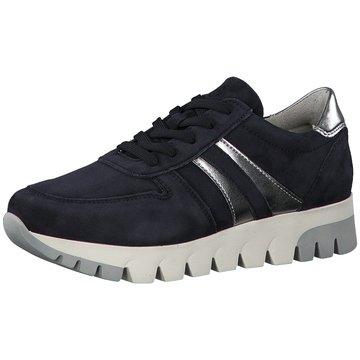 Tamaris Plateau SchnürschuheSneaker blau