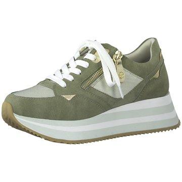 Tamaris Sportlicher Schnürschuh grün
