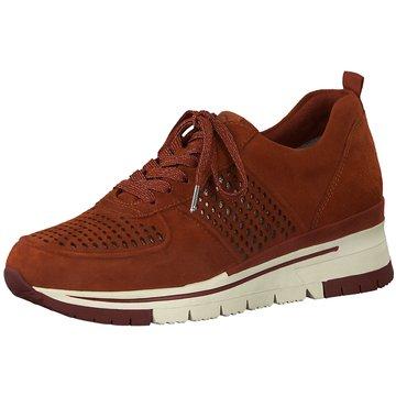 Tamaris Sportlicher SchnürschuhSneaker orange