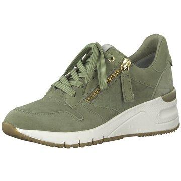 Tamaris Sneaker WedgesSneaker grün