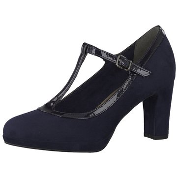 Tamaris T-Steg Pumps blau
