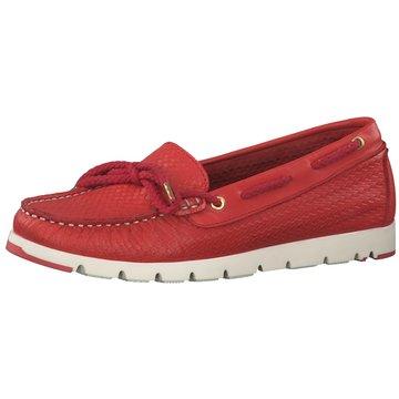 Tamaris Bootsschuh rot