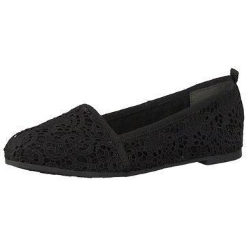 Tamaris Klassischer Slipper schwarz