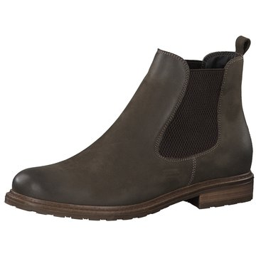 Tamaris Chelsea Boot oliv