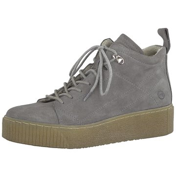 Tamaris Plateau SneakerStiefelette grau