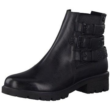 Tamaris BootsStiefelette schwarz