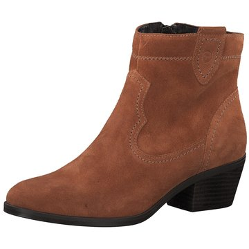 Tamaris Westernstiefelette orange