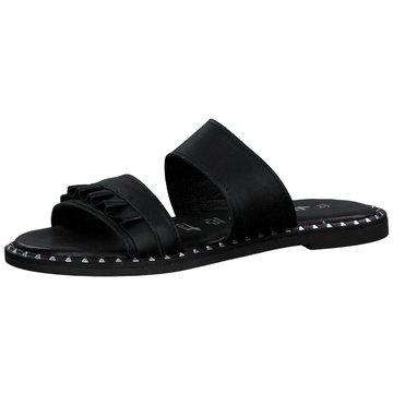 Tamaris Top Trends Pantoletten schwarz