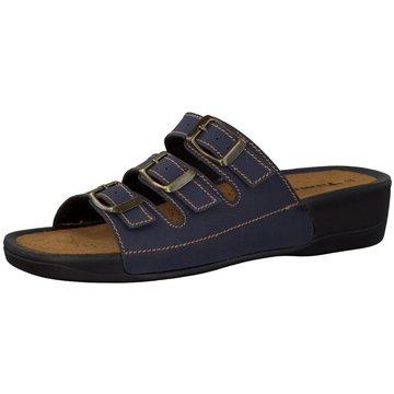 Tamaris Komfort PantolettePantolette blau