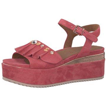 Tamaris Plateau Sandalette pink