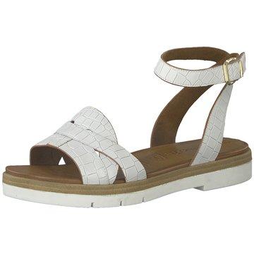 Tamaris Top Trends Sandaletten weiß