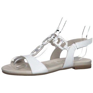 Tamaris Komfort Sandale weiß