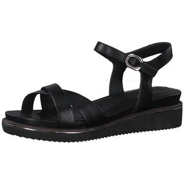 Tamaris KeilsandaletteDa.-Sandalette schwarz