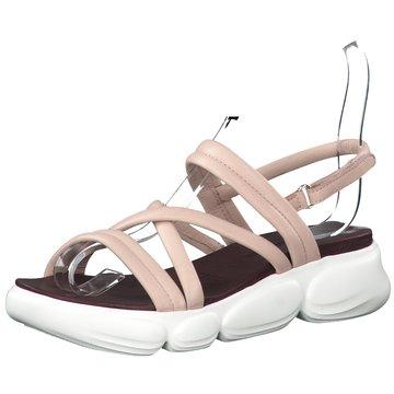 Tamaris Komfort Sandale rosa