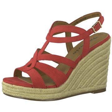 Tamaris Top Trends Sandaletten rot