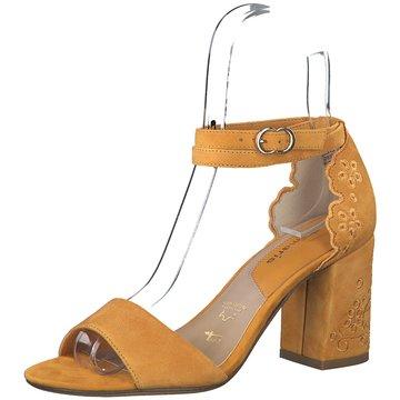 Tamaris Top Trends Sandaletten gelb