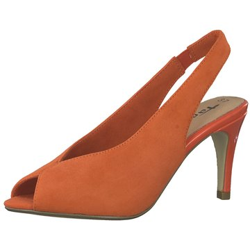 Tamaris Slingpumps orange