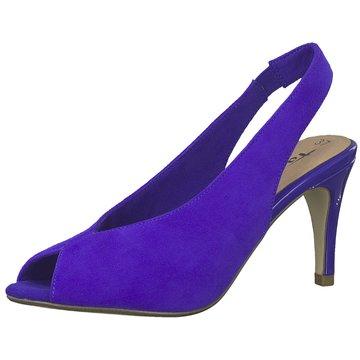 Tamaris Slingpumps blau