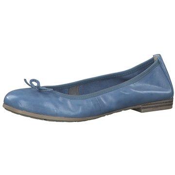 Marco Tozzi Faltbarer Ballerina blau