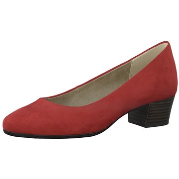 Marco Tozzi Flacher Pumps rot