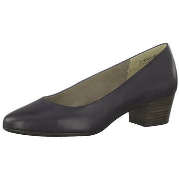Marco Tozzi Flacher Pumps blau