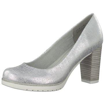 Gabor Damen Pumps 21.270.81 Silber 618452: : Schuhe