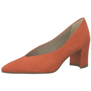 Marco Tozzi Klassischer Pumps orange