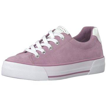 Marco Tozzi Plateau Sneaker lila