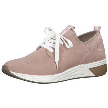 Marco Tozzi Sportlicher Schnürschuh rosa