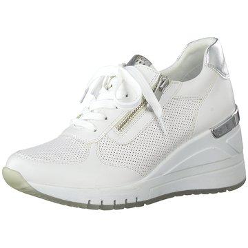 Marco Tozzi Sneaker Wedges weiß