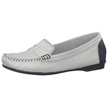 Marco Tozzi Komfort Slipper weiß