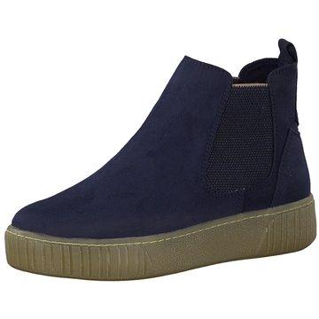 Marco Tozzi Chelsea Boot blau