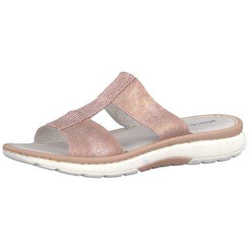 Marco Tozzi Klassische Pantolette rosa