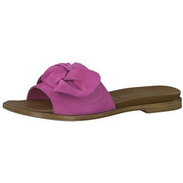 Marco Tozzi Top Trends Pantoletten pink