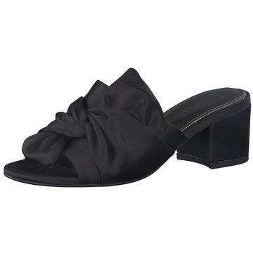 Marco Tozzi Klassische Pantolette schwarz