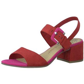 Marco Tozzi Top Trends Sandaletten rot