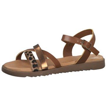 Marco Tozzi Top Trends Sandaletten braun
