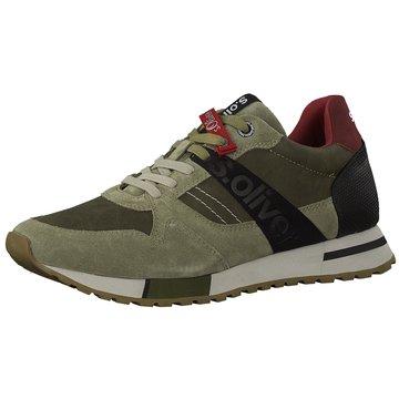 s.Oliver Sneaker Low grün