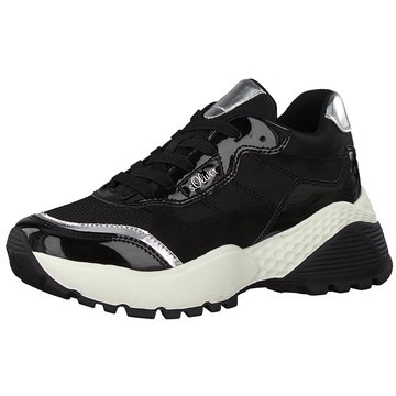 s.Oliver Sneaker Low schwarz