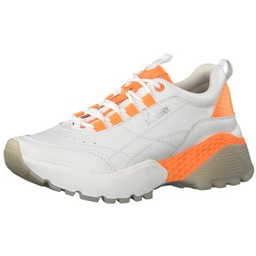 s.Oliver Sneaker Low weiß